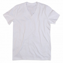 Stedman t-shirt v-neck organic james ss for him - Topgiving