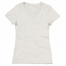 Stedman t-shirt v-neck organic janet ss for her - Topgiving
