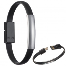 Silicone wristband for data- or powertransfer. - Topgiving