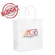 c1c0f021a17 ... Budget papieren kraft tas 24 x 9 x 24 cm - Topgiving