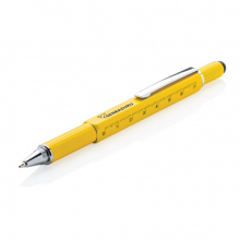 5-in-1 aluminium toolpen - Topgiving