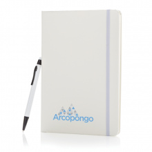A5 hardcover notitieboek met touchscreen pen - Topgiving