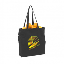 Black canvas shopper - Premiumgids