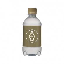Bronwater recycled pet 330 ml met draaidop - Topgiving