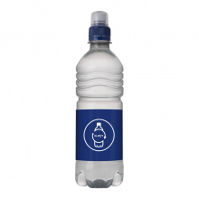 Bronwater recycled pet 500 ml met sportdop - Topgiving