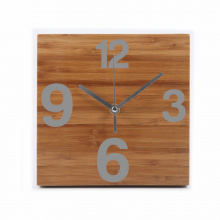 Bambou time wall clock - Topgiving