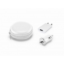 Usb oplader set - Topgiving