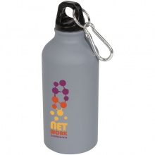 Oregon 400 ml matte drinkfles met karabijnhaak - Topgiving