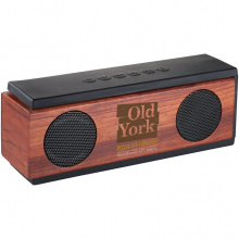 Native houten bluetooth® luidspreker - Topgiving