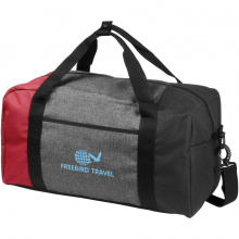 Three way kleurenblok 19 inch duffel bag - Topgiving