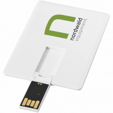 Slim card usb 2gb - Premiumgids