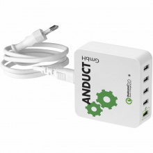 Quick charge™ 2.0 usb oplader met ac netstroom adapter - Premiumgids