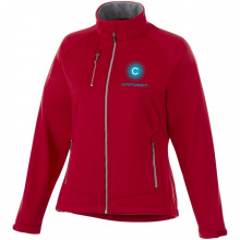 Chuck softshell dames jas - Topgiving