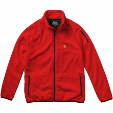 Drop shot fleece heren jas met ritssluiting - Topgiving
