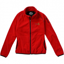 Drop shot fleece dames jas met ritssluiting - Topgiving