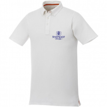 Atkinson button-down heren polo met korte mouwen - Topgiving