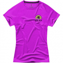Niagara cool fit dames t-shirt met korte mouwen - Topgiving