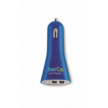 Usb 2x auto lader - Topgiving