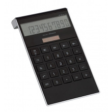 Elegant vormgegeven dual-power calculator dotty matrix - Topgiving