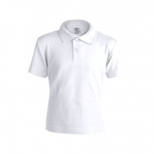 "Kinder wit polo shirt ""keya"" - Premiumgids"