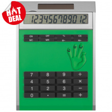 Calculator own design met inlegplaatje, klein - Topgiving