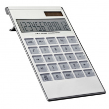 12-digit dual power calculator - Topgiving
