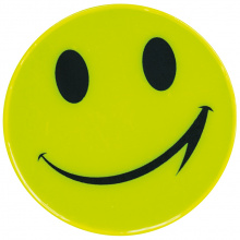 Sticker, reflecterend smile - Topgiving