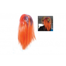 Oranje hairextension knot - Premiumgids