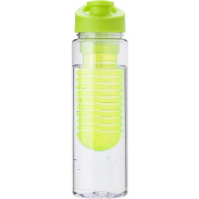 Tritan waterfles (700 ml) met fruit infuser - Topgiving