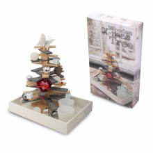 Wooden x-mas tree - Topgiving