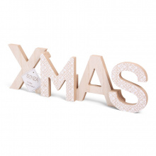 Senza vibes xmas word decoration - Topgiving