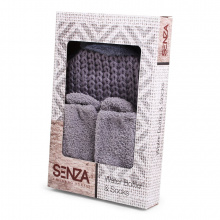 Senza water bottle & socks christmas - Topgiving