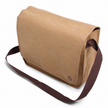 Washed kraft shoulderbag - Topgiving