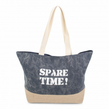 Jute canvas shopper - Topgiving