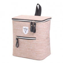 Twin tone bicycle coolerbag - Topgiving