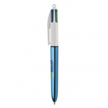 Bic® 4 colours shine balpen - Topgiving