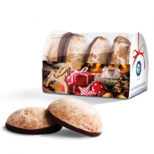 4 gingerbread in additional cardboard tray - Topgiving