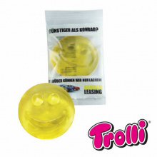 Single jelly gum smiley - Premiumgids