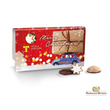 Gingerbread selection in a white cardboard - Premiumgids