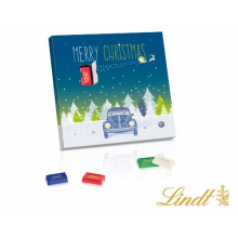 Mini bar adventskalender lindt - Topgiving