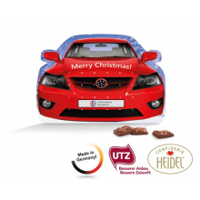 "System adventskalender, standard shape ""car"" - Topgiving"