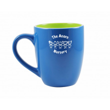Mini marrow inner & outer colourcoat mug - Topgiving