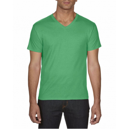 Anvil t-shirt featherweight v-neck for him - Premiumgids