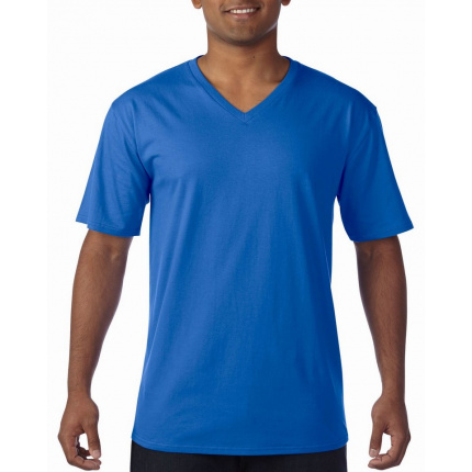 Gildan t-shirt premium cotton v-neck ss for him - Topgiving