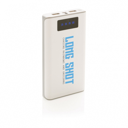 10.000 mah powerbank met display - Topgiving