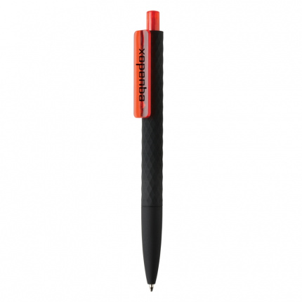 X3 zwart smooth touch pen - Topgiving