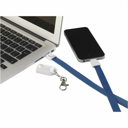 Keycord smartcharger 2-in-1 lanyard - Topgiving