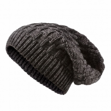 Heavy knitted slouchy hat - Premiumgids