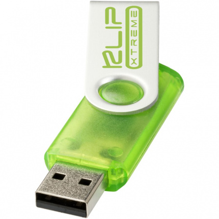 Rotate-translucent usb 2gb - Topgiving