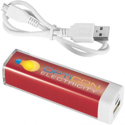 Flash Powerbank 2.200 mAh - Premiumgids